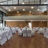 Bürgersaal, festlich gedeckte Tische