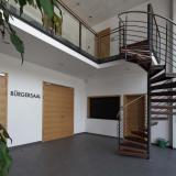 Foyer Wendeltreppe